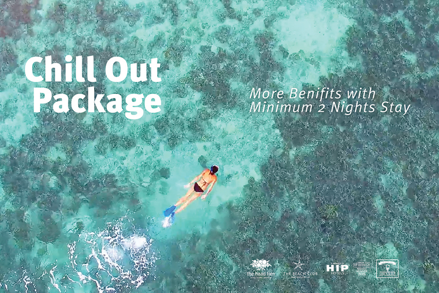 Chill Out Package 4 Day 3 Nights